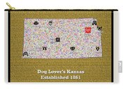 Kansas Loves Dogs Carry-all Pouch