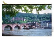 Karl Theodor Bridge And Heidelberg Castle  Carry-all Pouch