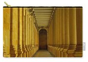 Karlovy Vary Colonnade Carry-all Pouch by Juergen Weiss