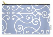 Kasbah Blue Arabesque Carry-all Pouch