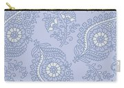 Kasbah Blue Paisley II Carry-all Pouch