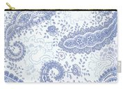 Kasbah Blue Paisley Carry-all Pouch