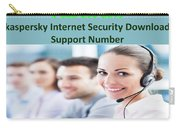 Kaspersky Internet Security Download Support Number Carry-all Pouch