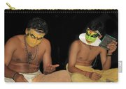 Kathakali Dancers Getting Ready Carry-all Pouch