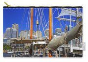 Kathleen Gillett The Artist Cruising Ketch Carry-all Pouch