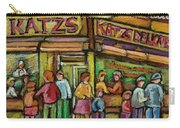 Katzs Delicatessan New York Carry-all Pouch