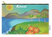 Kauai Hawaii Horizontal Scene Carry-all Pouch