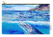 Kauai Humpback Whale Carry-all Pouch