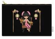 Kawaii China Doll Scene Carry-all Pouch
