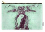 Kawasaki Z1 - Kawasaki Motorcycles 3 - 1972 - Motorcycle Poster - Automotive Art Carry-all Pouch
