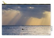Kayak At Dawn Carry-all Pouch by Mike  Dawson
