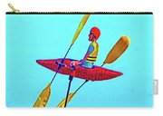 Kayak Guy On A Stick Carry-all Pouch