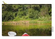 Kayak On A Forested Lake Carry-all Pouch