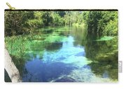 Kayak On Weeki Wachee Springs Carry-all Pouch
