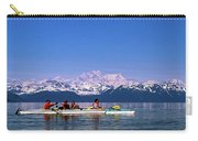 Kayakers In Alaska Carry-all Pouch