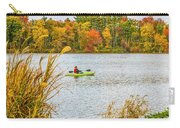 Kayaking In Fall Carry-all Pouch