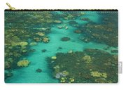 Kayaking Through Beautiful Coral Carry-all Pouch