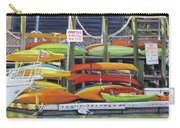 Kayaks Stacked On Shem Creek Carry-all Pouch