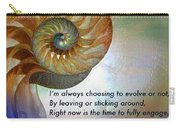 Kaypacha's Mantra 10.14.2015 Carry-all Pouch