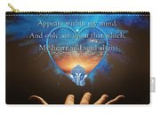 Kaypacha's Mantra 2.24.2016 Carry-all Pouch
