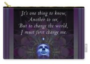 Kaypacha's Mantra 4.7.2015 Carry-all Pouch