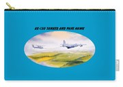 Kc-130 Tanker Aircraft And Pave Hawk With Banner Carry-all Pouch