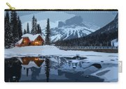 Keep The Home Fires Burning For The Weary Winter Traveler Carry-all Pouch