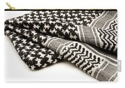 Keffiyeh Carry-all Pouch by Fabrizio Troiani