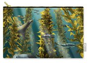 Kelp Forest With Seals Carry-all Pouch