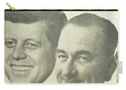 Kennedy For President Johnson For Vice President Carry-all Pouch