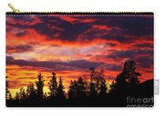 Kenosha Pass Sunrise Carry-all Pouch