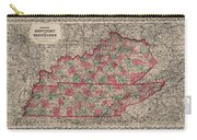 Kentucky And Tennessee Carry-all Pouch