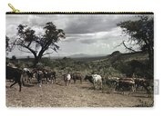 Kenya: Cattle, 1936 Carry-all Pouch
