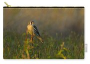 Kestrel In Meadow Carry-all Pouch