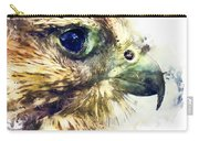 Kestrel Watercolor Painting Carry-all Pouch