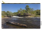Kettle River Big Spring Falls 6 Carry-all Pouch