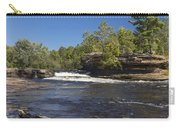 Kettle River Big Spring Falls 7 Carry-all Pouch