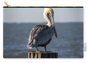 Key Largo Florida Yellow Headed Pelican Carry-all Pouch