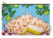 Key Lime Pie Mini Painting Carry-all Pouch