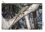 Key West Iguana In Mangrove 3 Carry-all Pouch