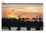 Key West Sunset Pier Carry-all Pouch