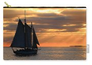 Key West Sunset Sail 6 Carry-all Pouch