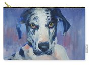 Khloe Harlequin Great Dane Carry-all Pouch