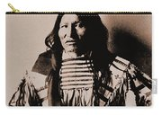 Kicking Bear Indian Chief Carry-all Pouch