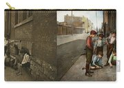 Kids - Cincinnati Oh - A Shady Game 1908 - Side By Side Carry-all Pouch
