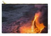 Kilauea Volcano Lava Flow Sea Entry 6 - The Big Island Hawaii Carry-all Pouch