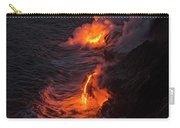 Kilauea Volcano Lava Flow Sea Entry - The Big Island Hawaii Carry-all Pouch