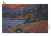 Killbear Flagged Pines At Sunset Carry-all Pouch
