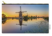 Kinderdijk At Sunset Carry-all Pouch