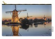 Kinderdijk In The Blue Hour Carry-all Pouch